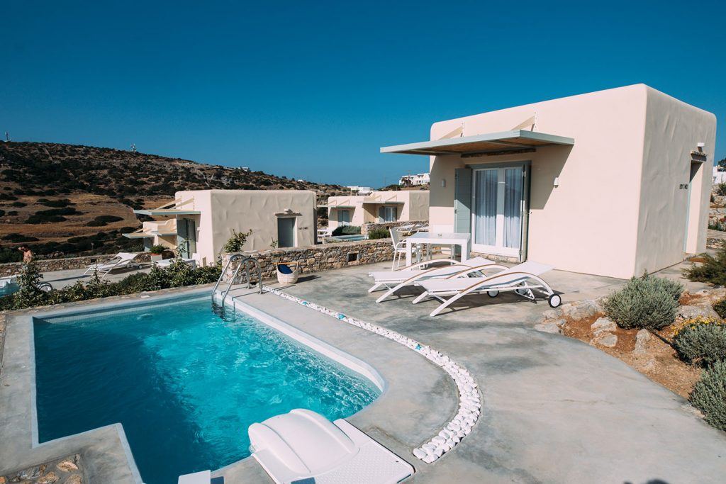 Deluxe bungalows με ιδιωτική πισίνα
