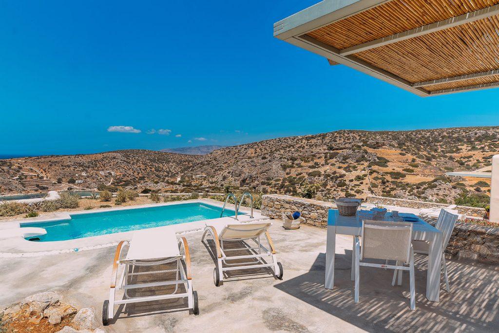 Junior suites with private pool